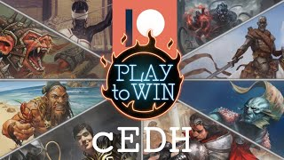 PLAY TO WIN PLAYS PATREON SUBMITTED DECKS - cEDH Commander Legends Gameplay
