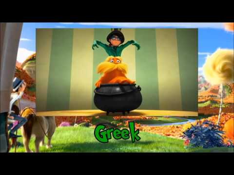 The Lorax - How Bad Can I Be? (Two-Line Multilanguage)