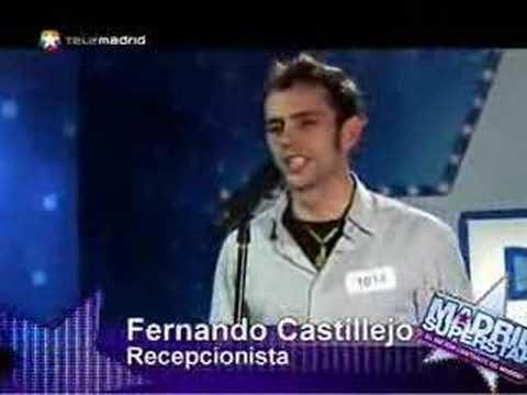 Casting de Fernando Castillejo en Madrid Superstar