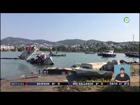 Imágenes del terremoto en Grecia y Turquía | #TVPúblicaNoticias