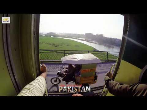 Jhelum Railway 🚈 Station, Punjab - Pakistan (4K video)