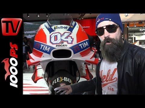 Ducati Superleggera, Superbike und Ducati Desmo16 GP | K.OTs Motorrad Neuheiten 2017