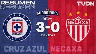 Resumen y goles | Cruz Azul 3-0 Necaxa | Guard1anes 2020 Liga BBVA MX - J7 | TUDN