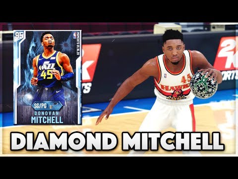 *NEW* DIAMOND MOMENTS DONOVAN MITCHELL GAMEPLAY!! | Is He Worth It In NBA 2k20 MyTEAM??