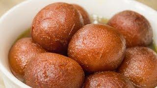 Gulab Jamun Recipe  How to make Perfect Milk Powder Instant Gulab Jamoon