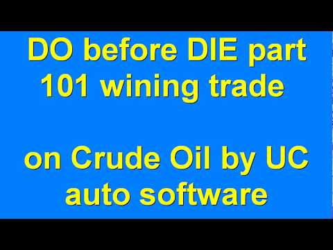 DO before DIE part 101 Automated Algo Trading Software from Ultachaal on MCX Crude Oil
