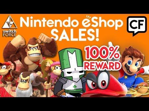 CF36: Mario Odyssey 100% Reward?, Switch PERFECT Secondary Console?, New Donkey Kong Switch?