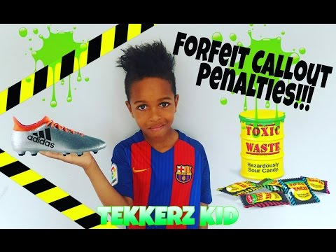 Forfeit Callout Penalties Vs Bro| Tekkerz Kid