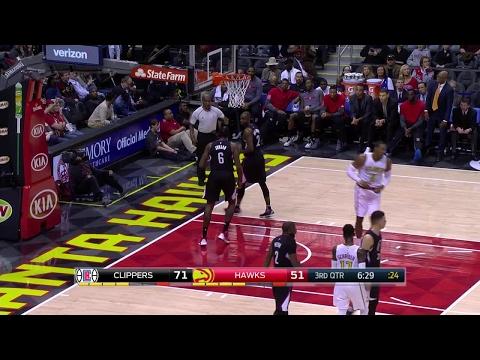 Quarter 3 One Box Video :Hawks Vs. Clippers, 1/23/2017 12:00:00 AM
