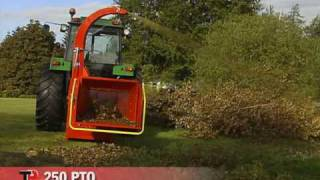 TP 250 PTO - Wood Chipper from Linddana