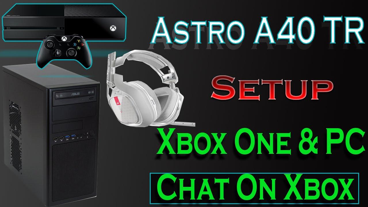 Xbox One A40 MixAmp Pro TR Setup Guide