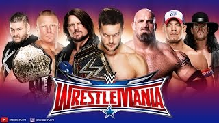 "WWE 2k17 Universe Mode: #27 ""Wrestlemania PPV"" (""WWE 2k17 Universe Mode"" PS4/Xbox One)"