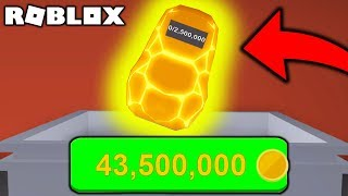 * THE MOST EXPENSIVE * BACKPACK IN MINING SIMUALTOR! | ROBLOX #admiros