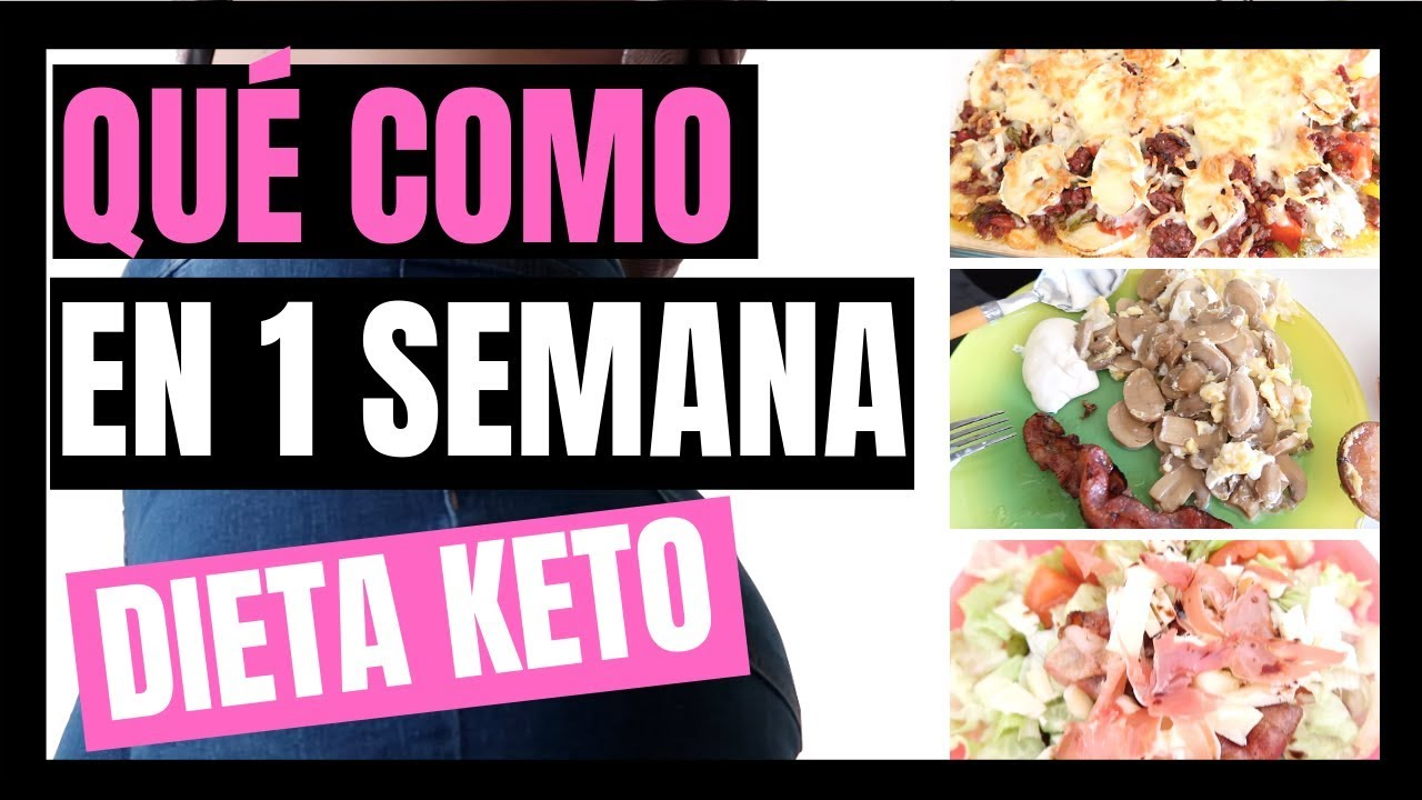 Que es la dieta cetogenica menu