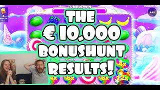 The €10.000 sunday bonushunt results!