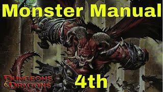 D&D Monster Manual 4e