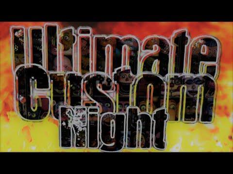 (SFM-Fan Made) Ultimate Custom Night Menu Screen (Original Video)