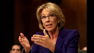 watch live education sec betsy devos speaks at senate appropriations subcommittee hearing