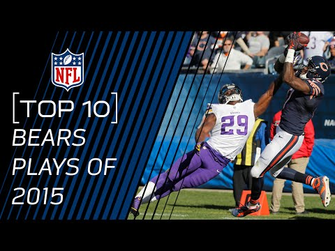 Top 10 Bears Plays of 2015 | #TopTenTuesdays | NFL