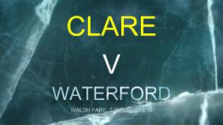 Clare v Waterford NHL 2018 (promo)