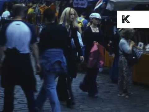 Early 2000s Camden Market Cybergoth And Goth, London Subculture