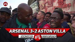 Arsenal 3-2 Aston Villa | I'm Confident We Can Beat Manchester United!
