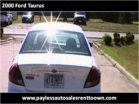 2000 ford taurus used cars jonesboro ar youtube. Black Bedroom Furniture Sets. Home Design Ideas