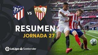 Resumen de Atlético de Madrid vs Sevilla FC (2-2)