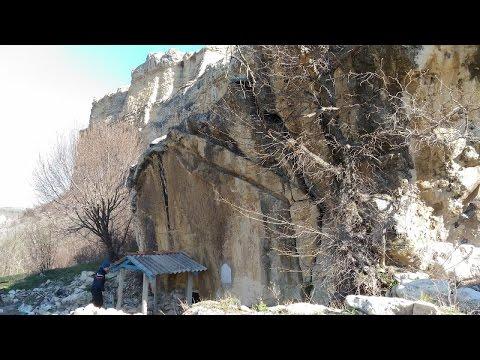 Крым, Белогорск, Бор-Кая, пещерный храм, апрель 2017