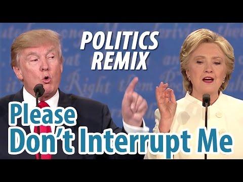 funny-debate-interruptions-song---trump-and-clinton-2016-|-politics-remix:-please-don't-interrupt-me