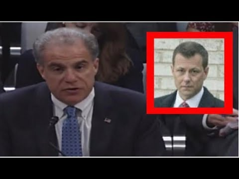 THE WORST THING HAPPENS TO PETER STRZOK AFTER HOROWITZ DROPS BOMBSHELL AT HEARING!