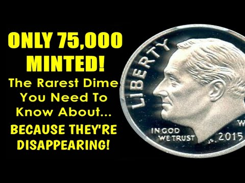 🔥🔥INCREDIBLY RARE 2015 ROOSEVELT DIME NO ONE KNEW EXISTED - DRYING UP IN THE MARKET!