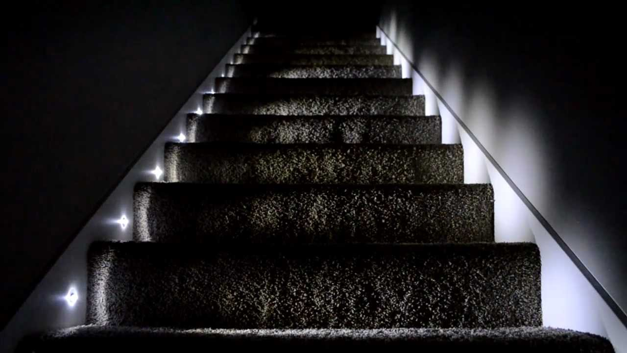 Titan Homes Stair Lighting - YouTube