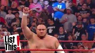 8 Superstars, die ihr 2018 im Auge behalten solltet - WWE List This! (DEUTSCH)