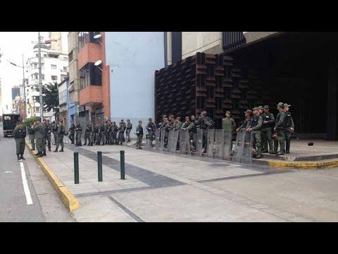 Venezuela's public prosecutor's office under 'siege' by military