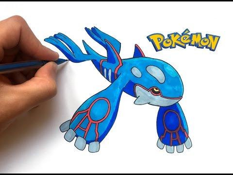 Dessin Kyogre Pokemon Youtube
