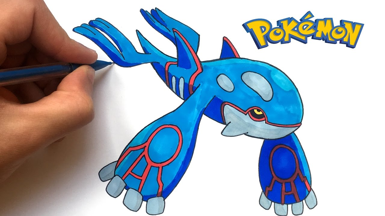 Dessin Kyogre Pokemon Youtube