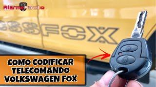 Programar Telecomandado Volkswagen Fox