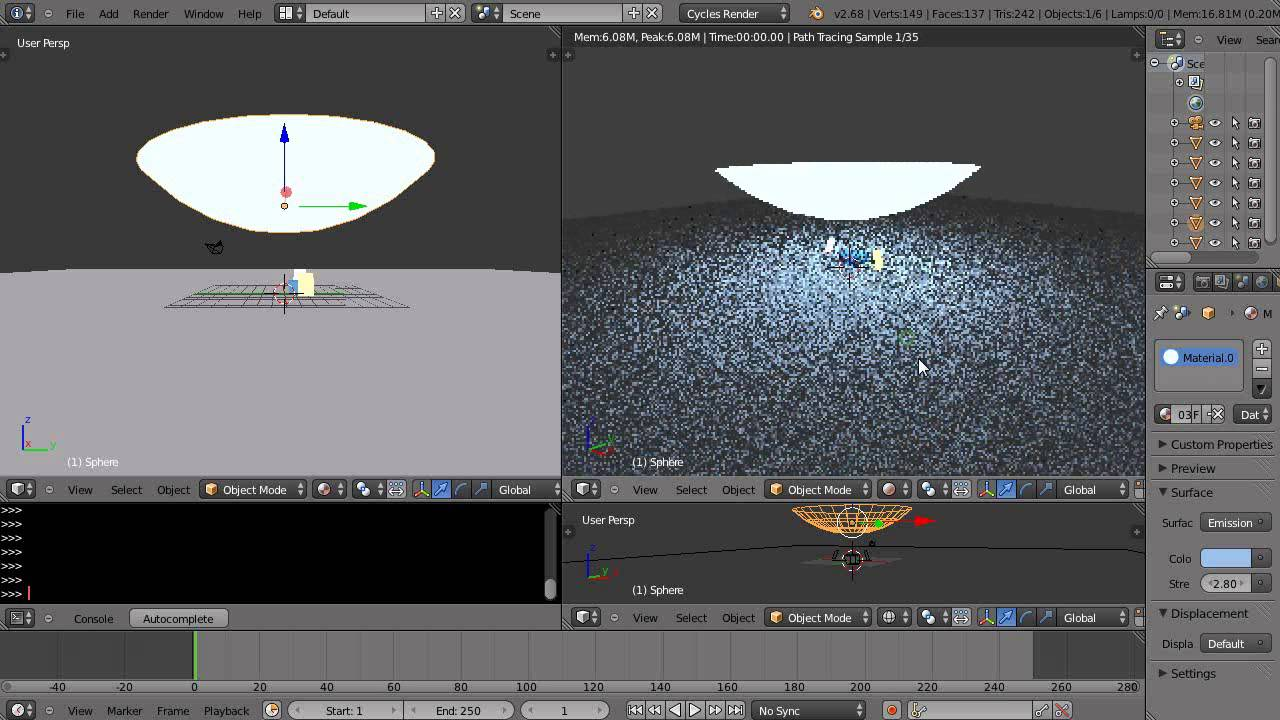 Blender Tutorial - Softening Light Edges with Cycles Rendering ...