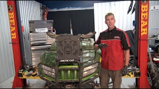 Arctic Cat Mud Pro Rad Relocate kit and Evans Coolant install - Wild Boar!