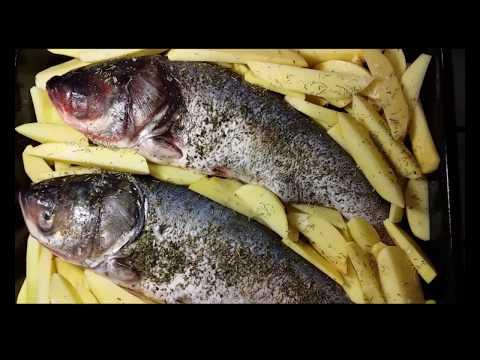 Рыба в духовке. Как приготовить рыбу.