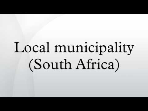Local municipality (South Africa)