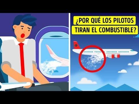 ¿Por qué los pilotos tiran el combustible antes de aterrizar?