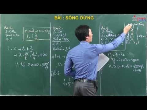 Video Vật lý 12 - Sóng cơ học - Bài tập sóng dừng - Cadasa.vn