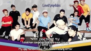 Video EXO - XOXO (korean version) [English subs + Romanization + Hangul] HD download MP3, 3GP, MP4, WEBM, AVI, FLV Januari 2018