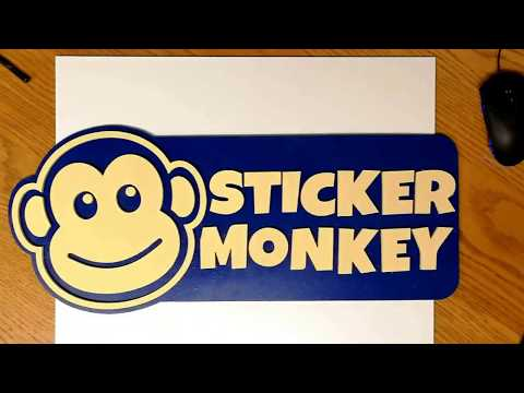 A Sticker Monkey Video Guide On How To Peel And Stick Your New Vinyl Decals.