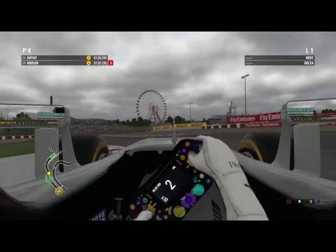 F1 Career, Skill, Race, Expert Difficulty, Cockpit View, Singapore