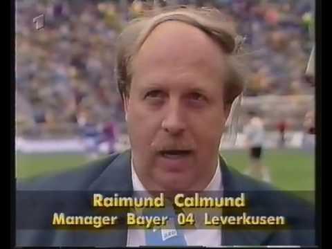 1993 DFB Pokalfinale Hertha BSC Amat    Bayer Leverkusen 0 1