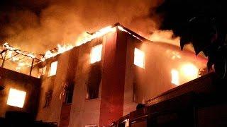 Турция. Пожар в интернате унес жизни 11 школьниц