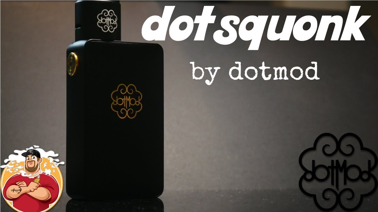 Dotsquonk by Dotmod Review & Breakdown | 12Ml's!!!